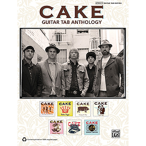 Cake: Guitar TAB Anthology