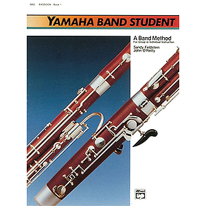Yamaha Band Student, Book 1: Bassoon