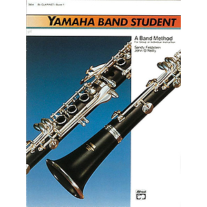 Yamaha Band Student, Book 1: Bb Clarinet