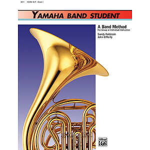 Yamaha Band Student, Book 1: Horn in F