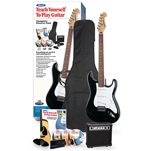 Alfred's Teach Yourself to Play Guitar, Complete Electric Guitar Starter Package