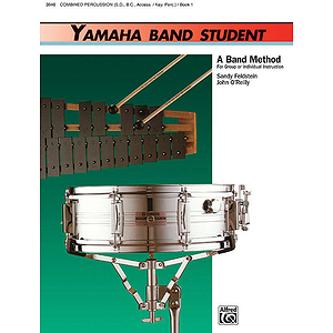 Yamaha Band Student, Book 1: Combined Percussion!S.D., B.D., Access., Keyboard Percussion