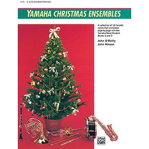 Yamaha Christmas Ensembles: Alto Sax, Baritone Sax
