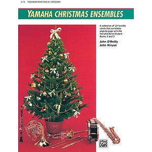Yamaha Christmas Ensembles: Trombone, Baritone B.c., Bassoon