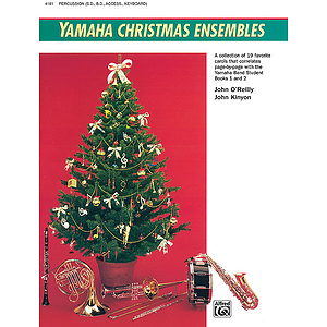 Yamaha Christmas Ensembles: Percussion
