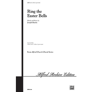 Ring the Easter Bells - SAB/ 2-Part Mixed W/Optional Handbells