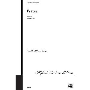 Prayer - SATB