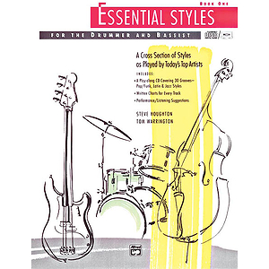 Essential Styles for The Drummer and Bassist - Book 1 - Book & CD