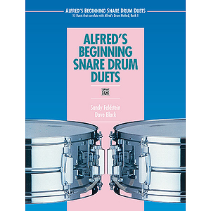 Alfred's Beginning Snare Drum Duets - Book