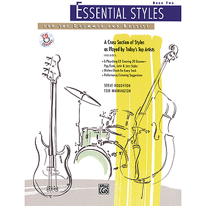 Essential Styles for The Drummer and Bassist - Book 2 - Book &amp; CD