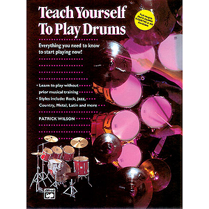Alfred's Teach Yourself To Play Drums - Book