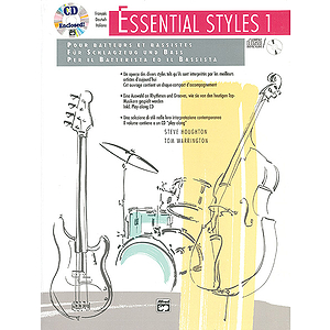 Essential Styles for The Drummer and Bassist, Book 1 - Book & CD (Grmn., Fr., It. Ed.)