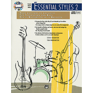 Essential Styles for The Drummer and Bassist, Book 2 - Book & CD (Grmn., Fr., Itl. Ed.)