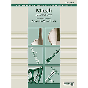 "March From ""Psalm 19"""