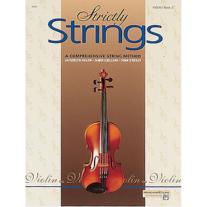 Strictly Strings, Book 2: Violin