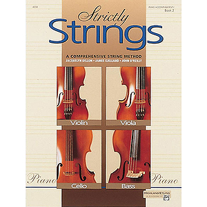 Strictly Strings, Book 2: Piano Accompaniment