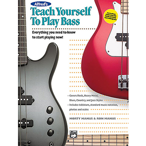 Alfred's Teach Yourself To Play Bass - Book