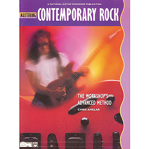 Mastering Contemporary Rock - Book