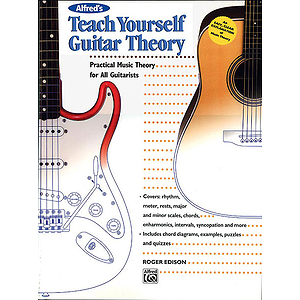 Alfred's Teach Yourself Guitar Theory - Book
