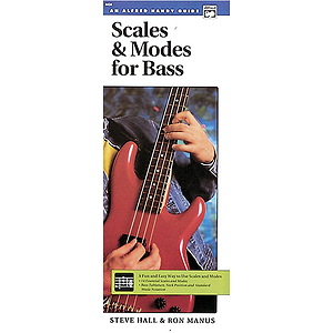 Scales & Modes for Bass (Handy Guide)