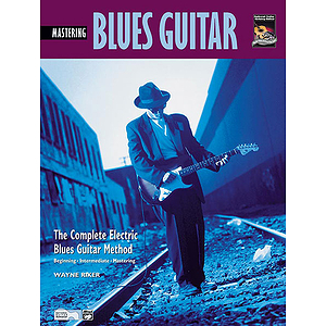 Mastering Blues Guitar - Book