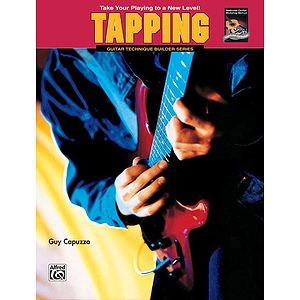 Tapping (Guitar Technique Builders Series) - Book
