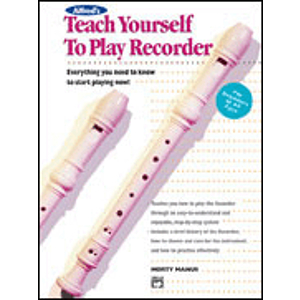 Alfred's Teach Yourself To Play Recorder - CD