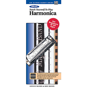 Alfred&#039;s Teach Yourself To Play Harmonica - Handy Guide &amp; Hohner Harmonica