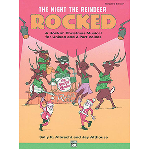 Night the Reindeer Rocked! - Listening CD