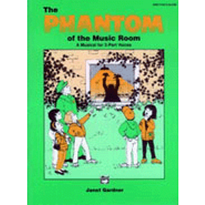 Phantom of The Music Room - Preview Pack (Singer's Edition/Listening Cassette)