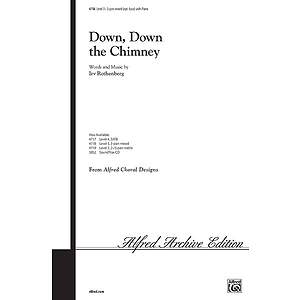 Down, Down the Chimney - 3-Part Mixed