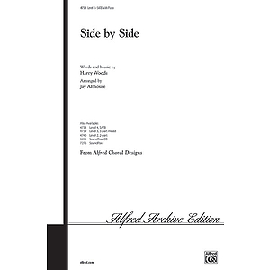 Side By Side - SATB