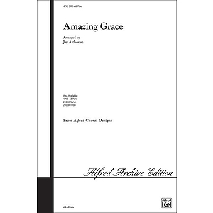 Amazing Grace - SATB