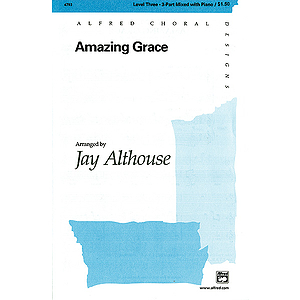 Amazing Grace - 3-Part Mixed