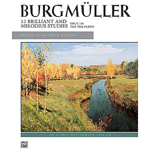 Burgmuller - 12 Brilliant Studies, Op. 105