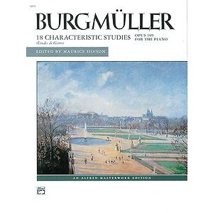 Burgmuller - 18 Characteristic Studies, Op. 109
