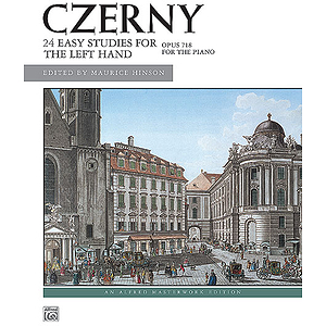Czerny - 24 Studies for The Left Hand, Op. 718