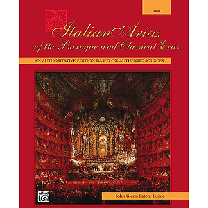 Italian Arias of The Baroque and Classical Eras - Book Only (High)