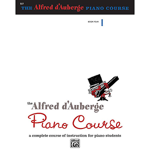 Alfred D'auberge Piano Course - Lesson Book 4