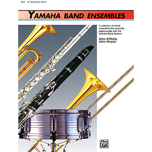 Yamaha Band Ensembles, Book 1: Tenor Sax