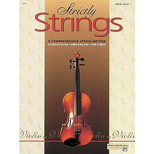 Strictly Strings, Book 1: Violin