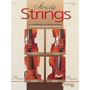 Strictly Strings, Book 1: Piano Accompaniment