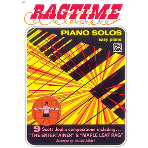Ragtime Piano Solos for Easy Piano