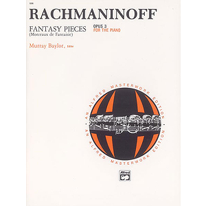 Rachmaninoff - Fantasy Pieces, Op. 3