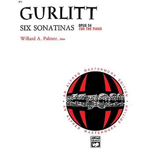 Gurlitt - 6 Sonatinas, Op. 54