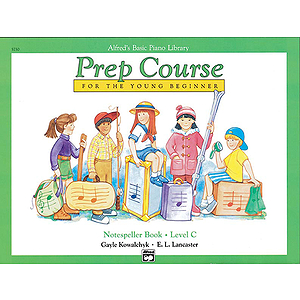 Alfred's Basic Piano Prep Course - Notespeller Book Level C