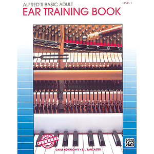 Alfred's Basic Adult Piano Course - Ear Training Book Level 1