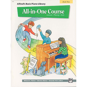 Alfred's All-In-One Piano Course (Book Two)