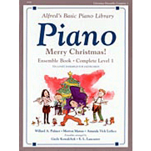 Alfred's Basic Piano Course - Merry Christmas! Ensemble Book - Complete Level 1