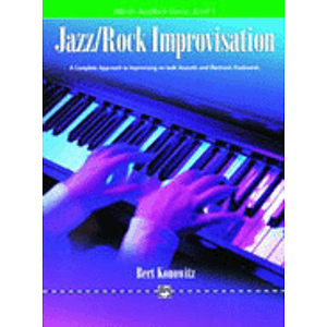 Alfred's Basic Jazz/Rock Course - Improvisation Level 4